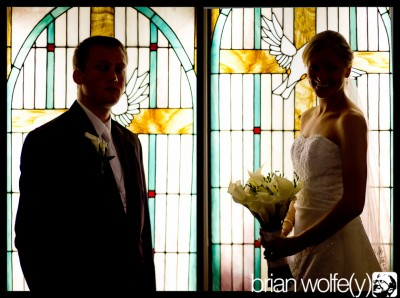 Evan & Lindsay got hitched!