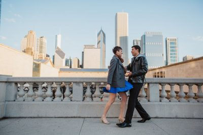 Sioned & Alex Engagement {Chicago, IL}