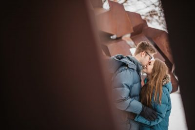Carrie & Joel Engagement {Ypsilanti, MI}